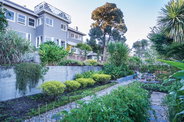 A Mansion with Great Views and an Edible Garden