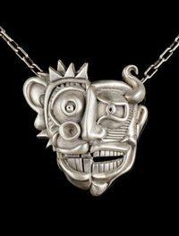 Michael J. Marx creates wearable sculptures.