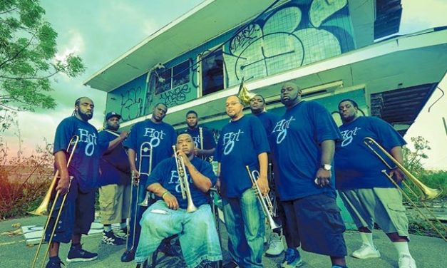 It's Never Too Late for the Hot 8 Brass Band