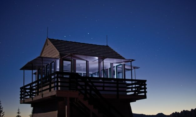 How to Rent a Former Fire Lookout Cabin in California