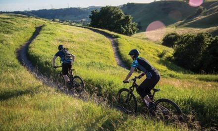 Bikers Swarm the Crocket Hills Flow Trail