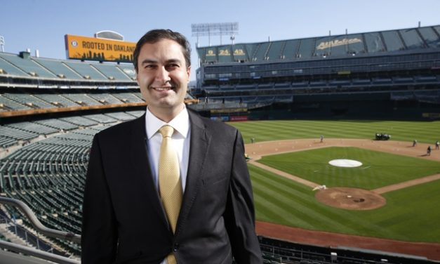 The A's Dave Kaval Is In