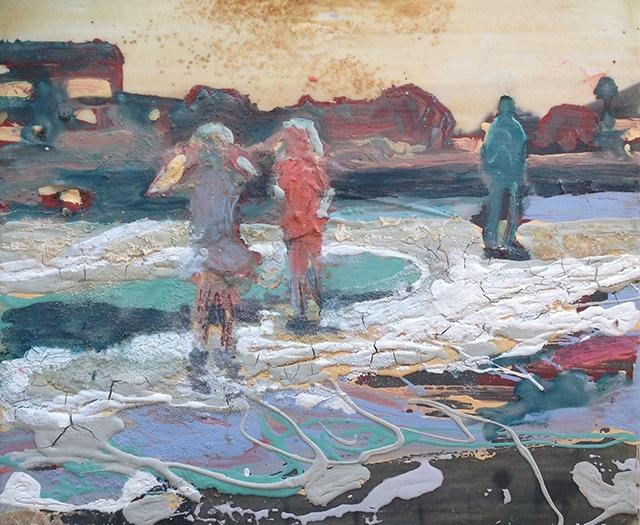 Ginny Parsons Contemplates Alameda