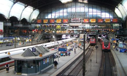 Touring the Center of Hamburg
