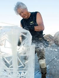 The Iceman Createth