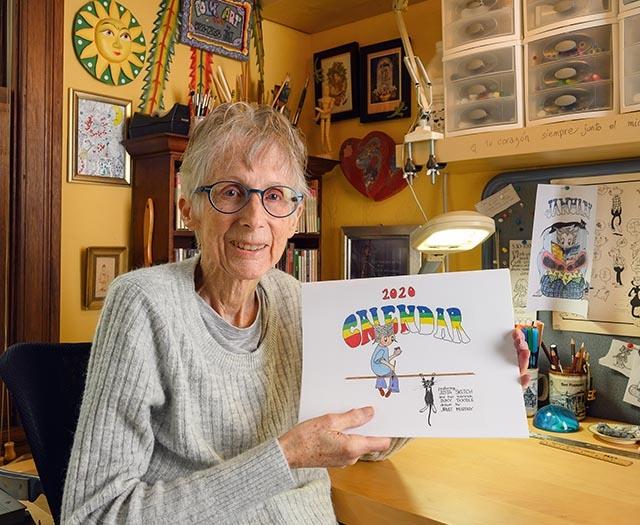 A Cartoonist's Daughter, Janet Murphy, Reinvents Herself