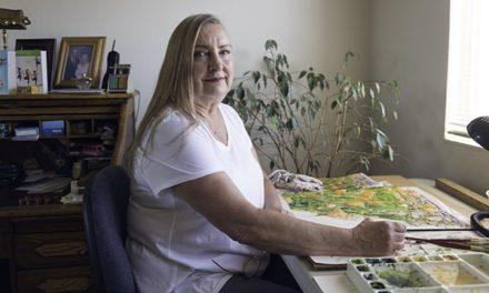 Sue Matthews Has a Way With Watercolor
