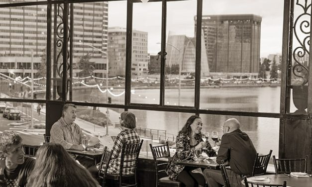 The Face of Dining with a View