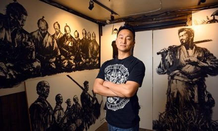 Yojimbo Doubles as an Art Gallery