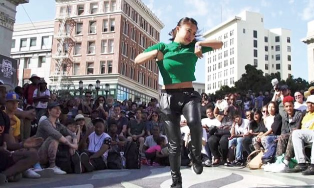 See Turf Dance Battles and Dance-a-Vision at Art + Soul