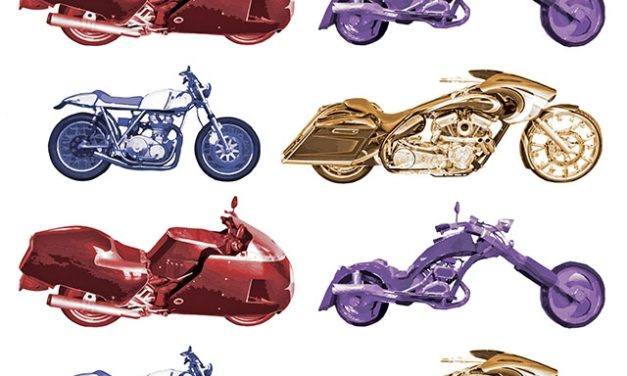 Motorcycles are the Heart of a RAC Exhibition