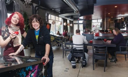 Sci-Fi Meets Coffee Shop at Emeryville's Scarlet City