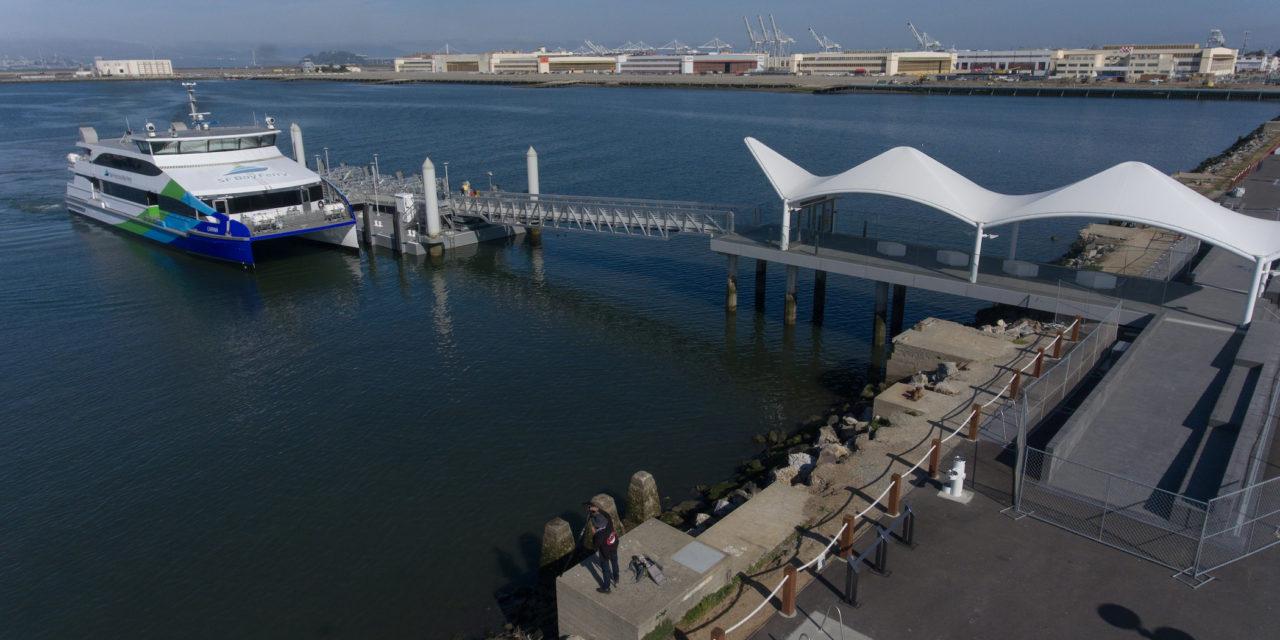 Alameda Point Waterfront Enjoys New On-Site $23 Million Ferry Terminal
