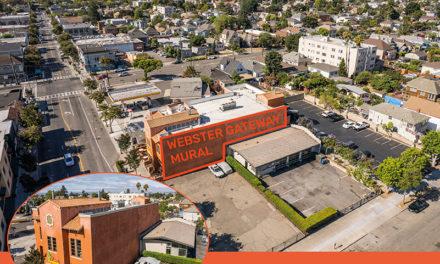"Webster Street Comes Alive for monumental ""Gateway Mural"""